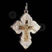 Ασημένιος βιδωτός σταυρός 1