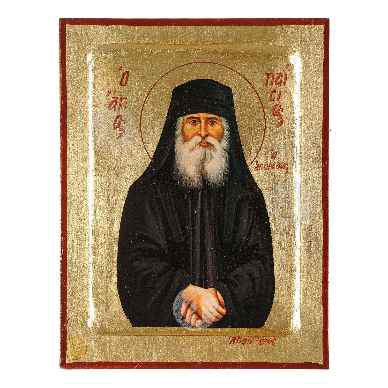 Άγιος Παΐσιος ο Αγιορείτης - Εκκλησιαστική εικόνα Αγίου Όρους