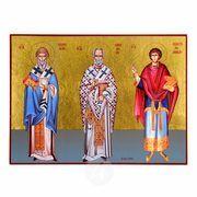 Saint Spiridon, Nikolaos & Panteleimon