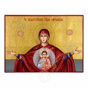 Virgin Mary Platitera ton Ouranon