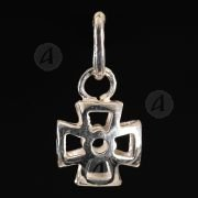 Silver cross necklace 118