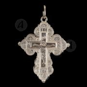Ασημένιος βιδωτός σταυρός 2