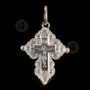 Ασημένιος βιδωτός σταυρός 82