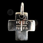Silver cross necklace 119