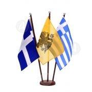 Ιστός και σημαία