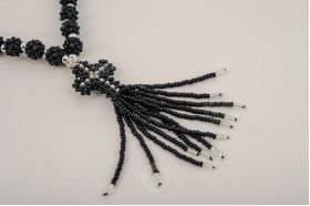 Beaded prayer rope with a cross