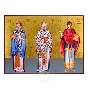 Άγιοι Σπυρίδων, Νικόλαος, Παντελεήμων
