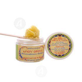 Lemon balm wax cream