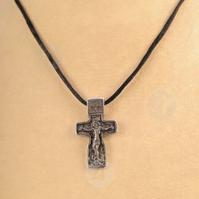 Silver-plated Cross/Silver-plated Cross Necklace