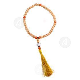 Wooden prayer rope