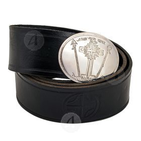 Leather Priestly belt