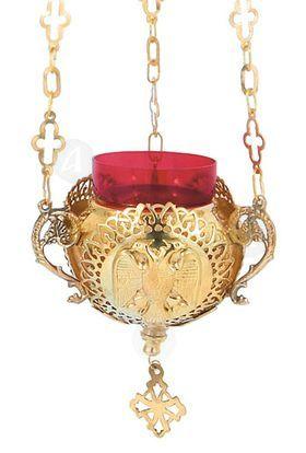 Hanging vigil lamp