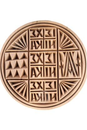 Stamp for Holy Bread