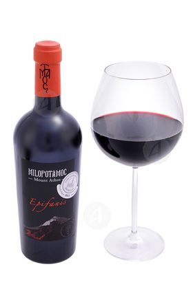 Red Dry Wine Holy Cell Saint Efstathios 750ml